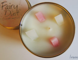 Lily-Flame Fairy Dust Candle