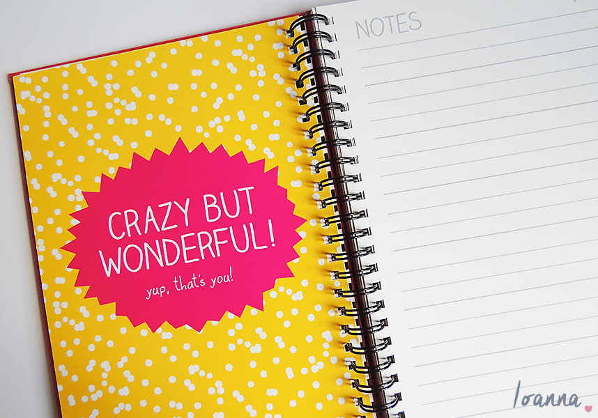 Diary and New Year's Resolutions