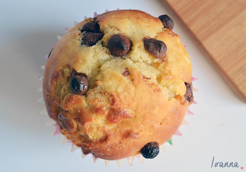 Orange and Chocolate Chip Muffins