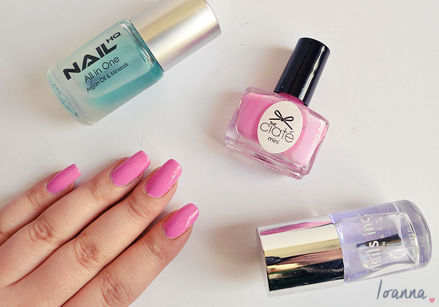 Nails #36 featuring Ciate Candy Floss