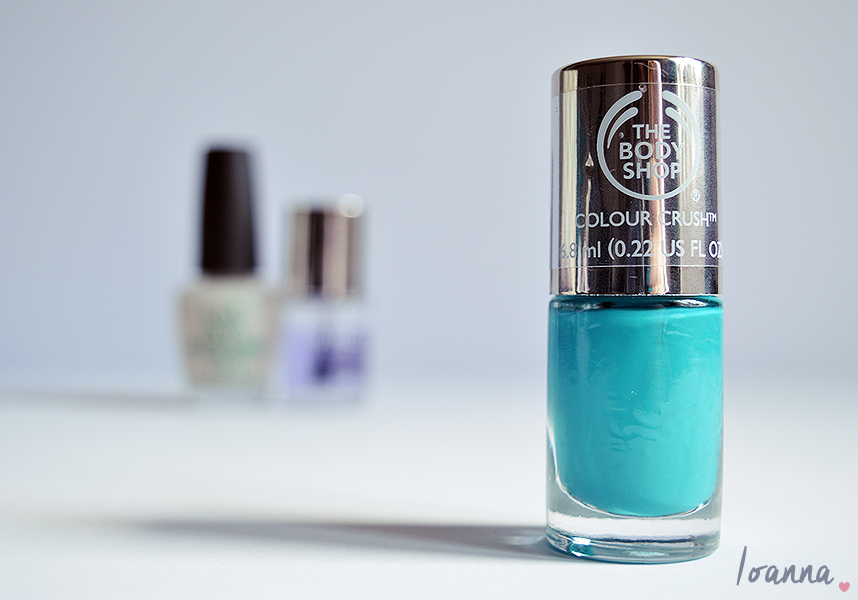 Nails #37 featuring The Body Shop Minty Amour