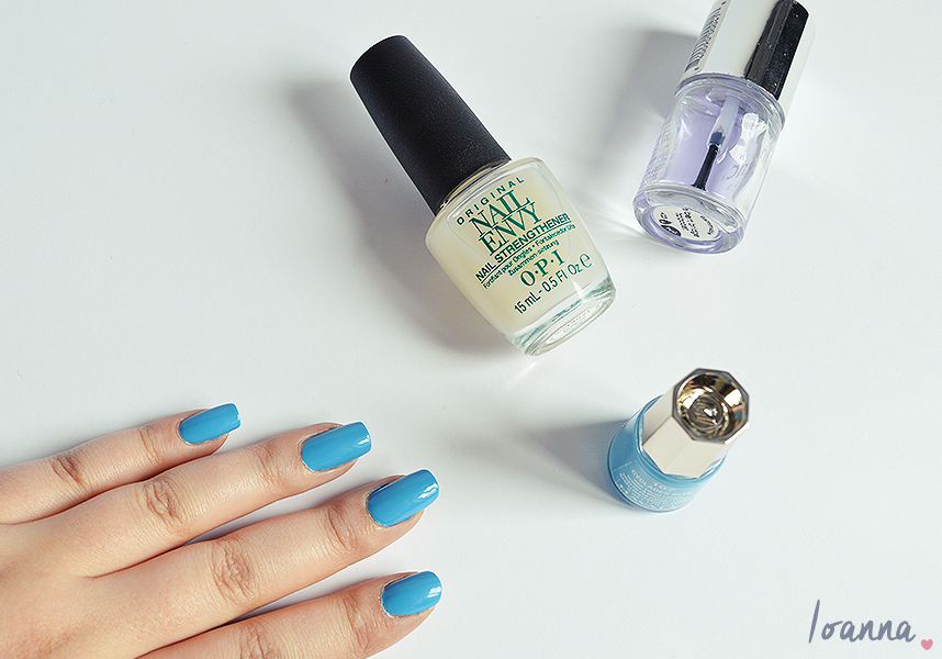 Nails #39 |Mavala Cyclades Blue
