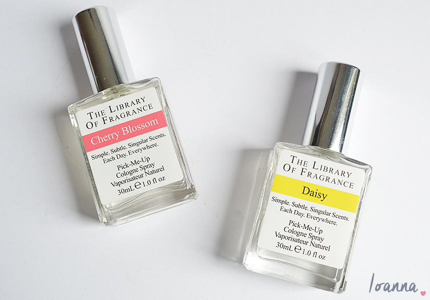 Spring Scents: Library of Fragrance Cherry Blossom and Daisy