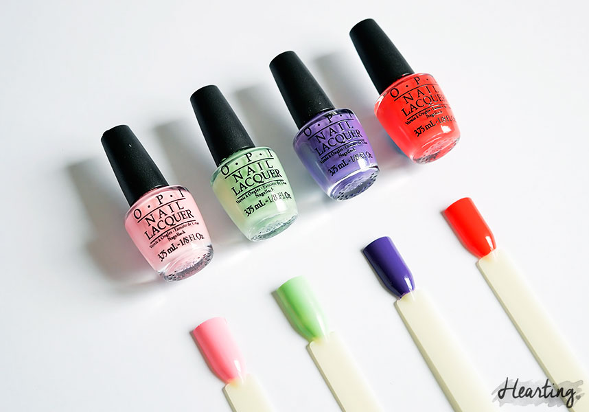 OPI Hawaii 2015 Mini Collection
