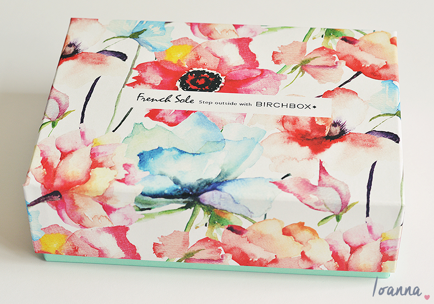 Birchbox #18   Unboxing and first impressions of the French Sole Birchbox