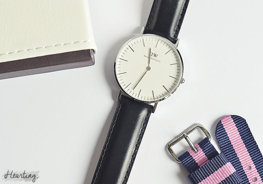 Hearting Lately #5 | Daniel Wellington Classic Sheffield Lady Watch in Silver