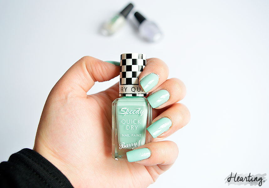 Nails #43 featuring Barry M Speedy Quick Dry in Road Rage