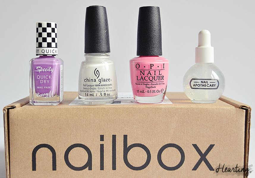 Nailbox #4 | July Tropical Treats Nailbox