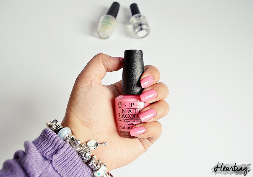 Nails #45 | OPI Kiss Me I'm Brazilian