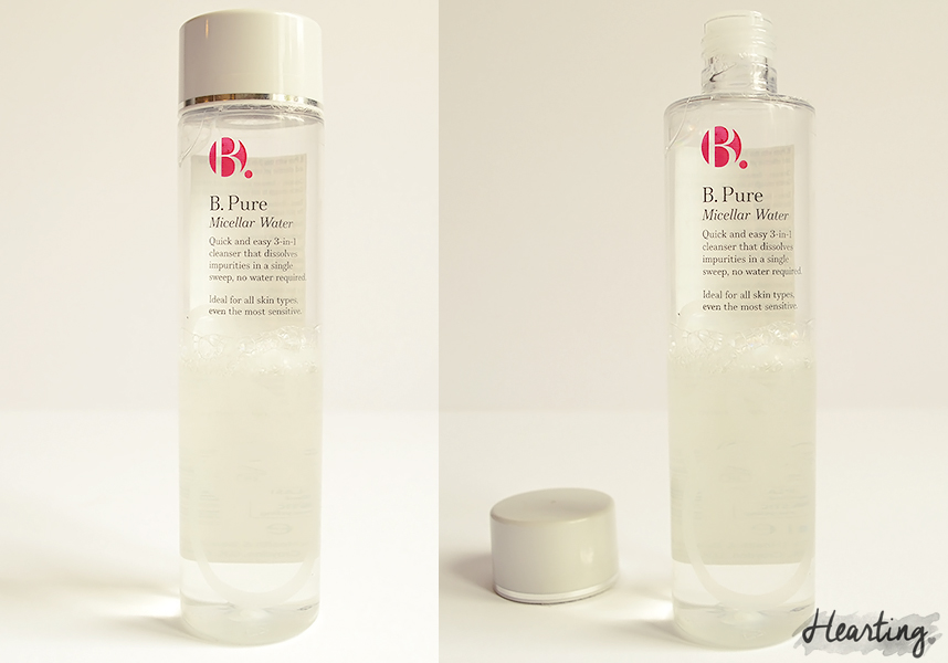 My Micellar Cleansing Water Test | B. Pure Micellar Water