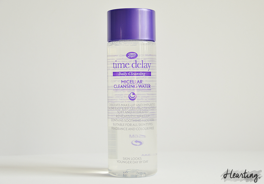 My Micellar Cleansing Water Test | Boots Time Delay Daily Cleansing Micellar Cleansing Water