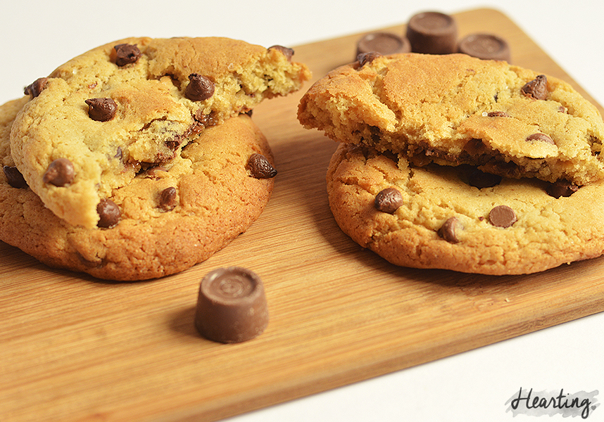 Baking | Salted Caramel Chocolate Chip Cookies