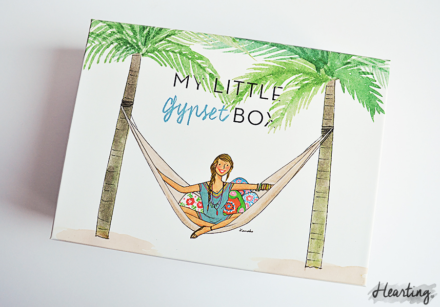 My Little Box #12 | Unboxing and first impressions of the My Little Gypset Box