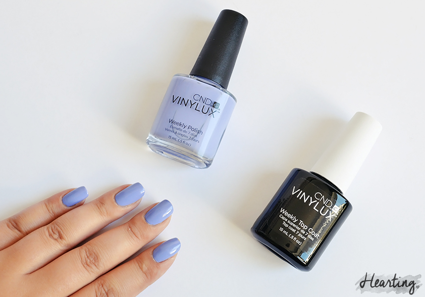 Nails #48 | CND Vinylux Weekly Wisteria Haze and CND Vinylux Weekly Top Coat