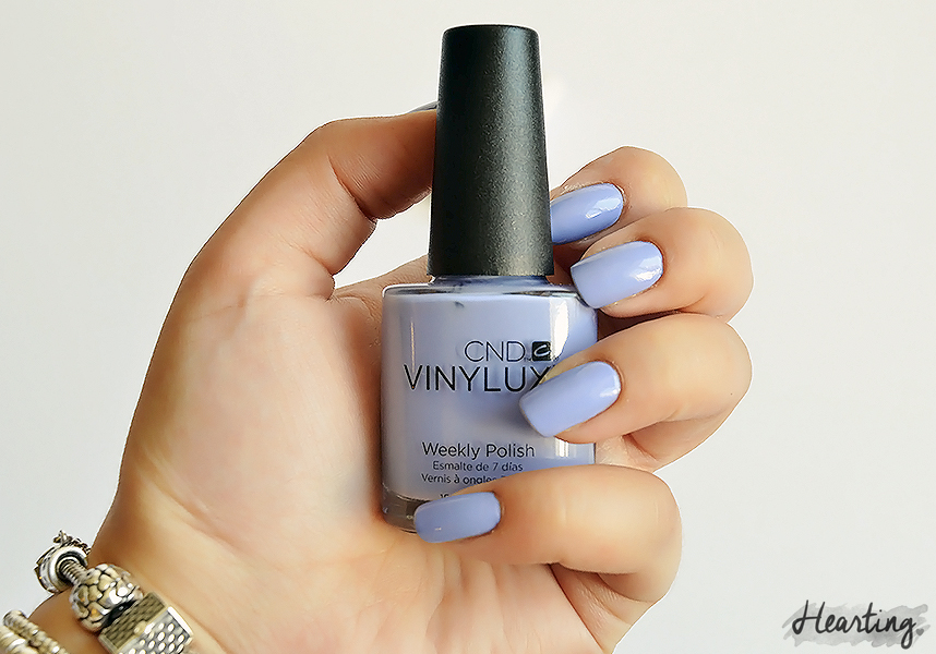 Nails #48   CND Vinylux Weekly Wisteria Haze and CND Vinylux Weekly Top Coat