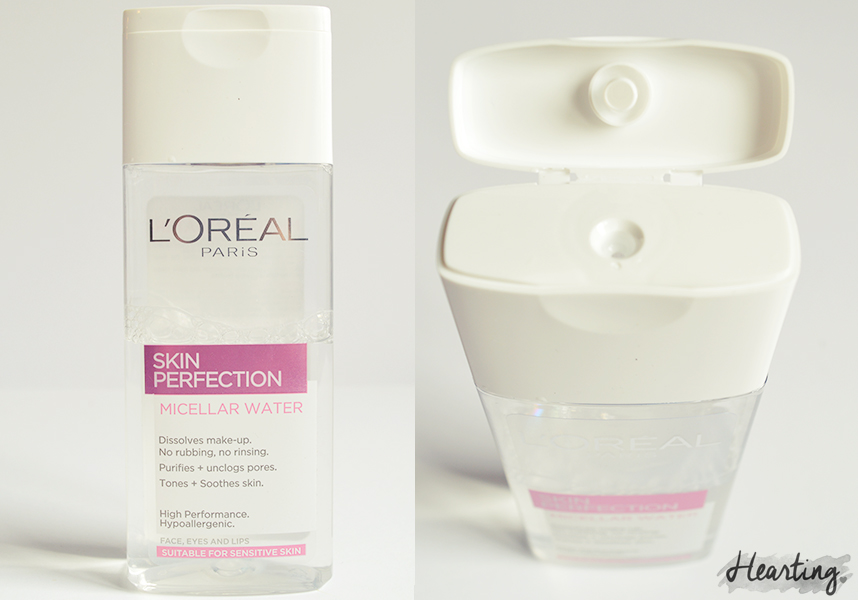 My Micellar Cleansing Water Test | L'Oreal Skin Perfection 3 in 1 Purify Micellar Solution
