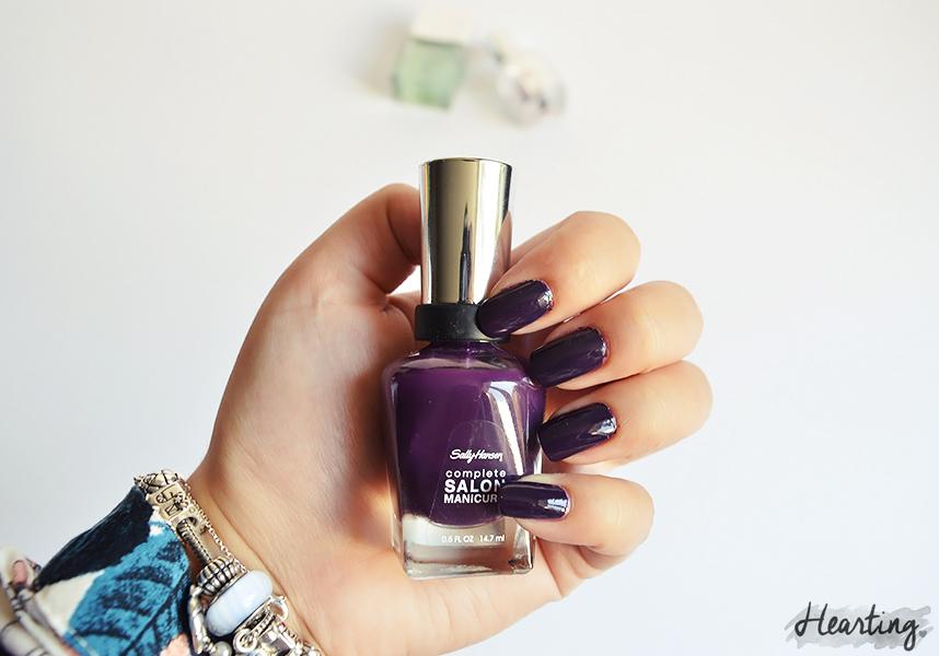 Nails #51 | Sally Hansen Plum Luck