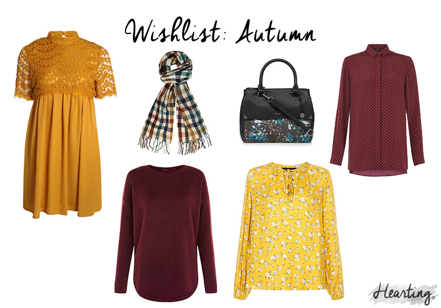 Wishlist: Autumn