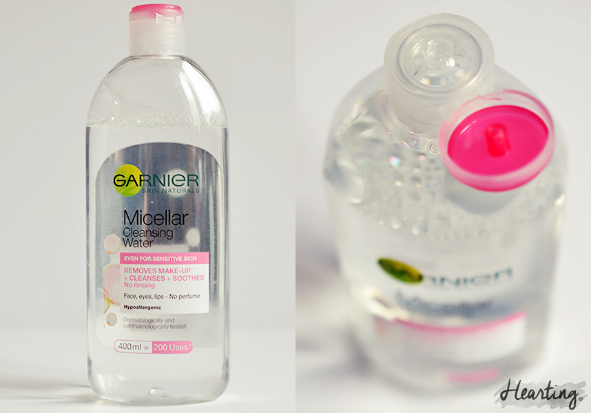 My Micellar Cleansing Water Test | Garnier Micellar Cleansing Water