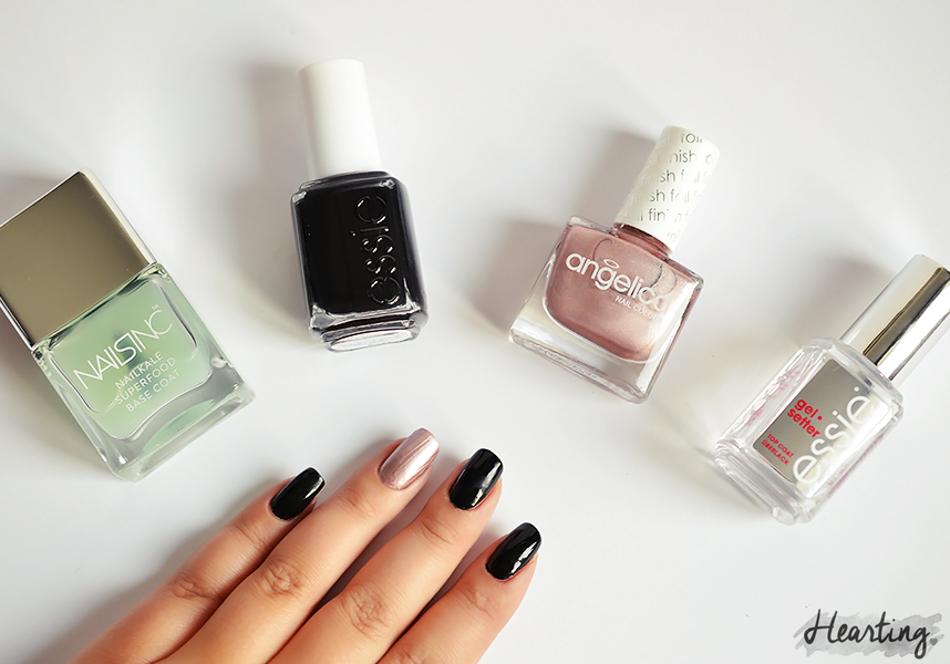 Nails #53 | Essie Licorice and Angelica V.I.P