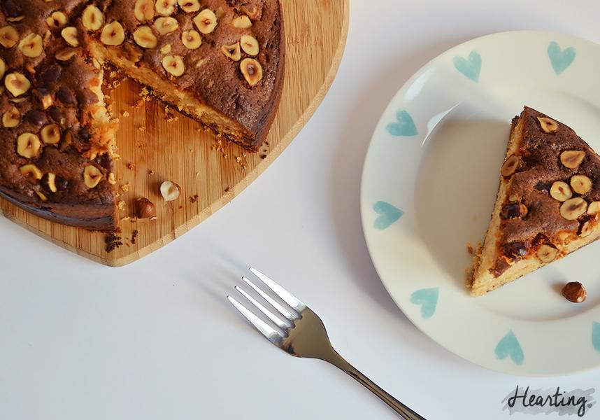 Nutty Nutella Cake