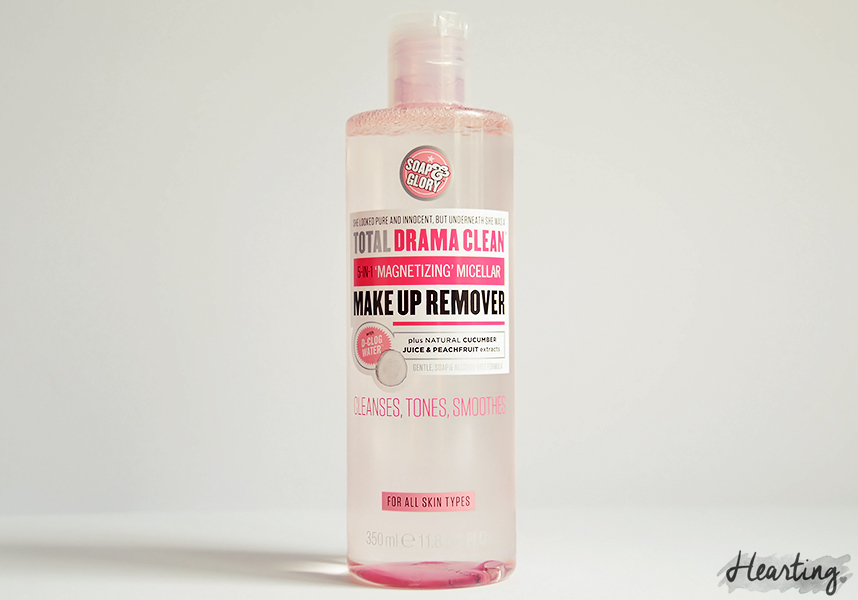 My Micellar Cleansing Water Test | Soap & Glory Drama Clean 5 in 1 Micellar Cleansing Water