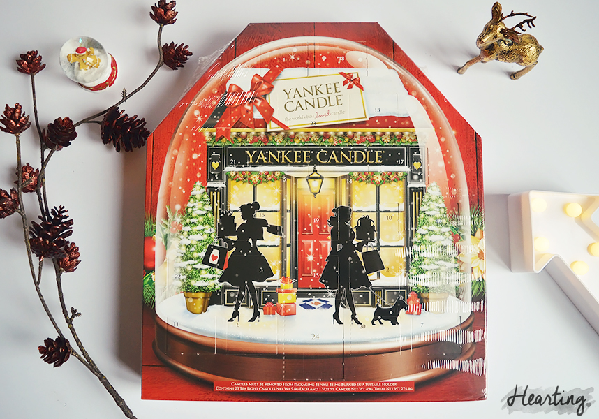 Pre-Christmas Giveaway | Yankee Candle Advent Calendar