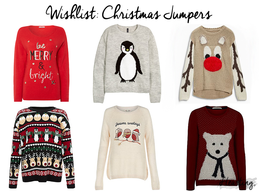 Wishlist: Christmas Jumpers #2