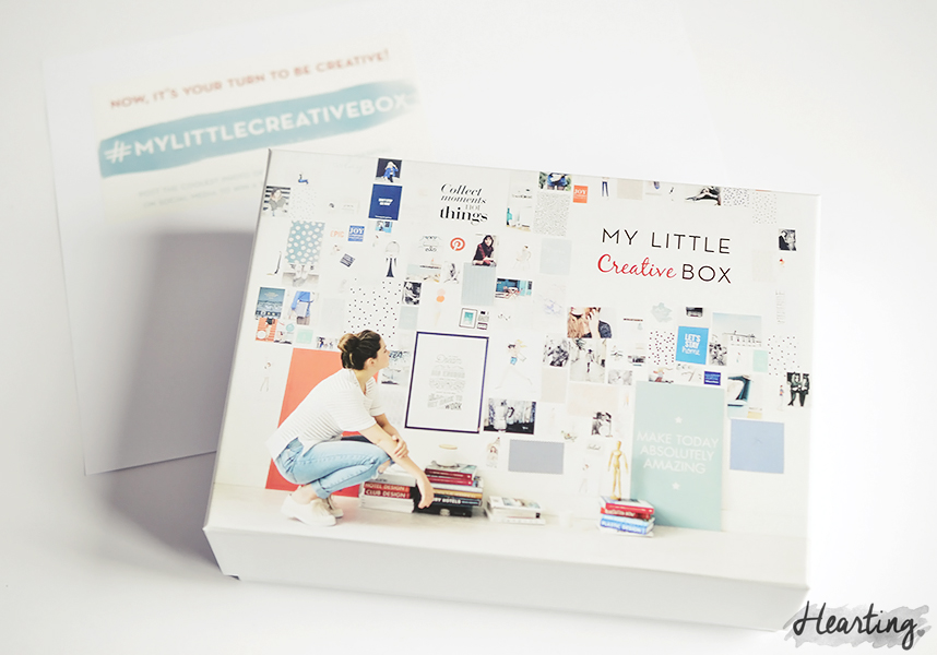 My Little Box #14 | Unboxing and first impressions of the October My Little Creative Box
