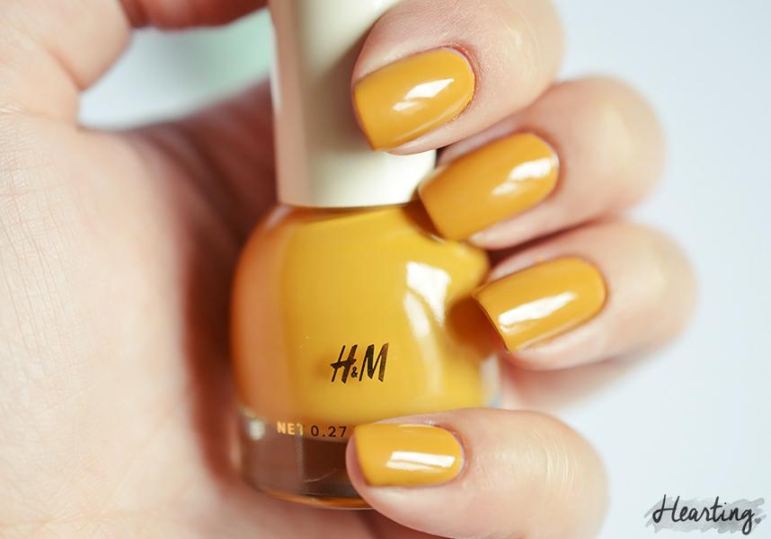 Nails #56 | H&M Golden Turmeric