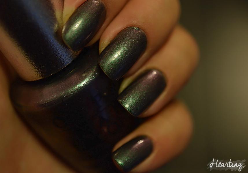 Nails #58 | OPI Charcoal