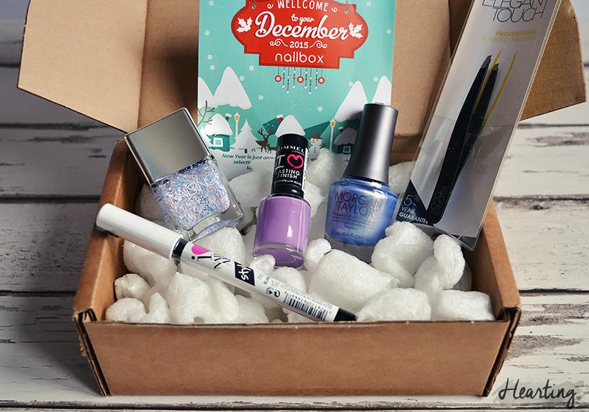 Nailbox #9 | December Happy New Year! Nailbox