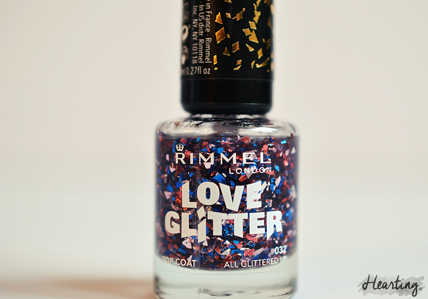 Nails #62 | Rimmel Bestival Blue and Rimmel All Glittered Up