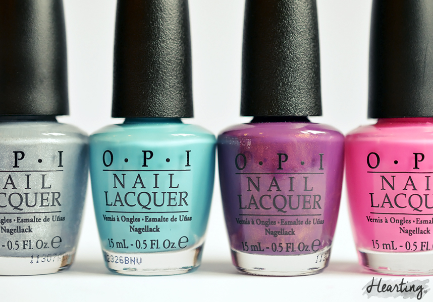 Nailpolish.co.uk OPI Haul