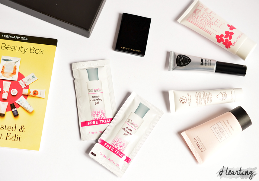 You Beauty Box #5 | February The Rested & Radiant Edit You Beauty Box 2016
