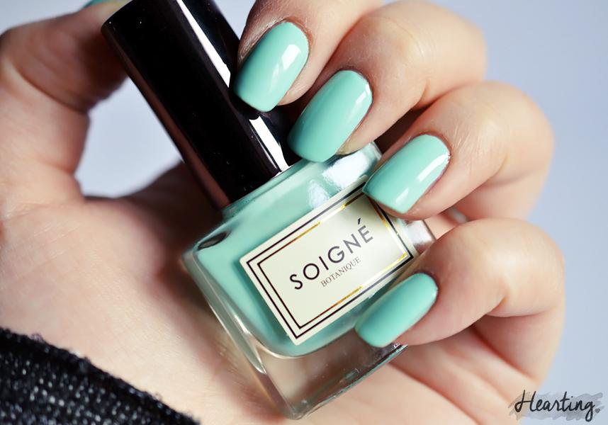 Nails #69   Soigné Menthe