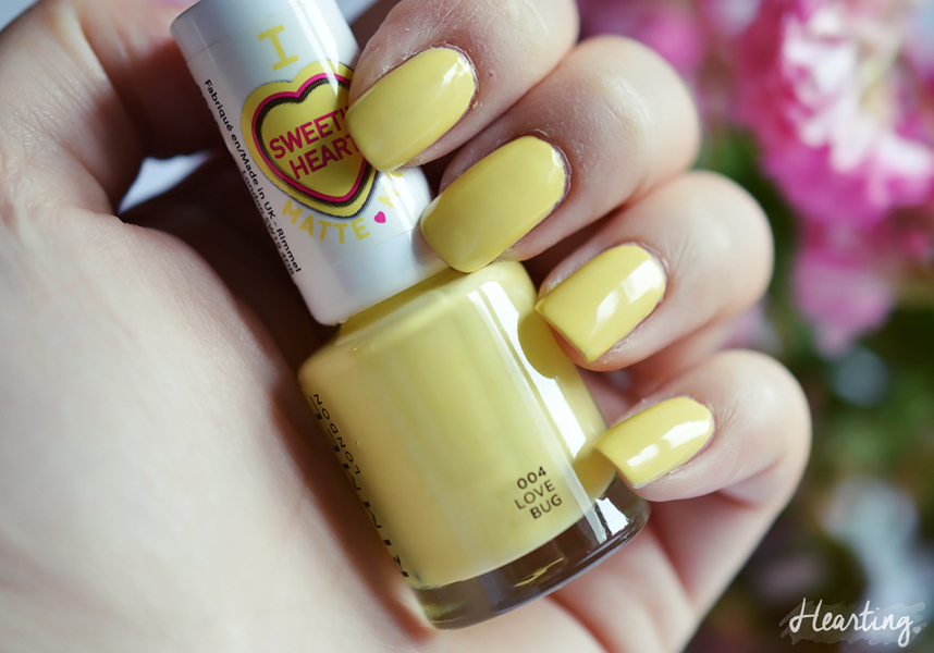 Nails #69 featuring Rimmel Love Bug