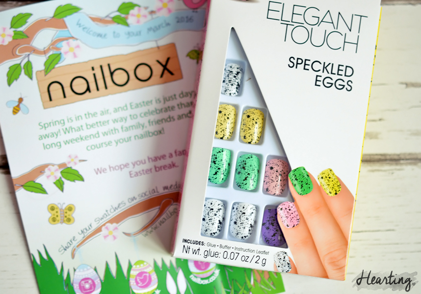 Nailbox #12 | March 2016 Easter Nailbox