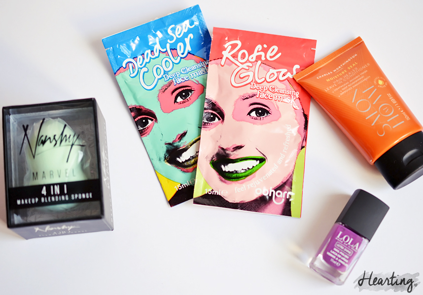 You Beauty Box #6    March The Best of British Beauty Box 2016