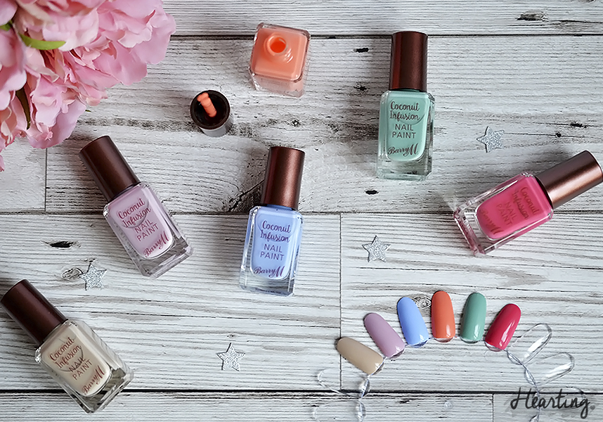 Barry M Coconut Infusion Collection
