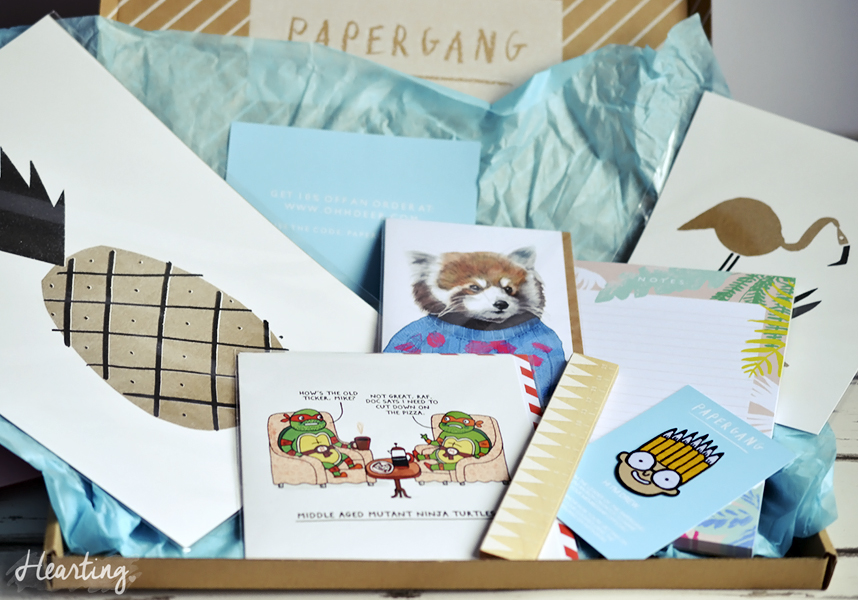 Papergang #1 | April Papergang Stationery Subscription Box