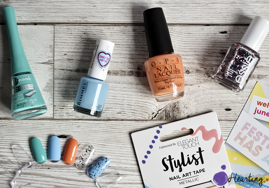 Nailbox #15 | June 2016 Festival Fever Nailbox