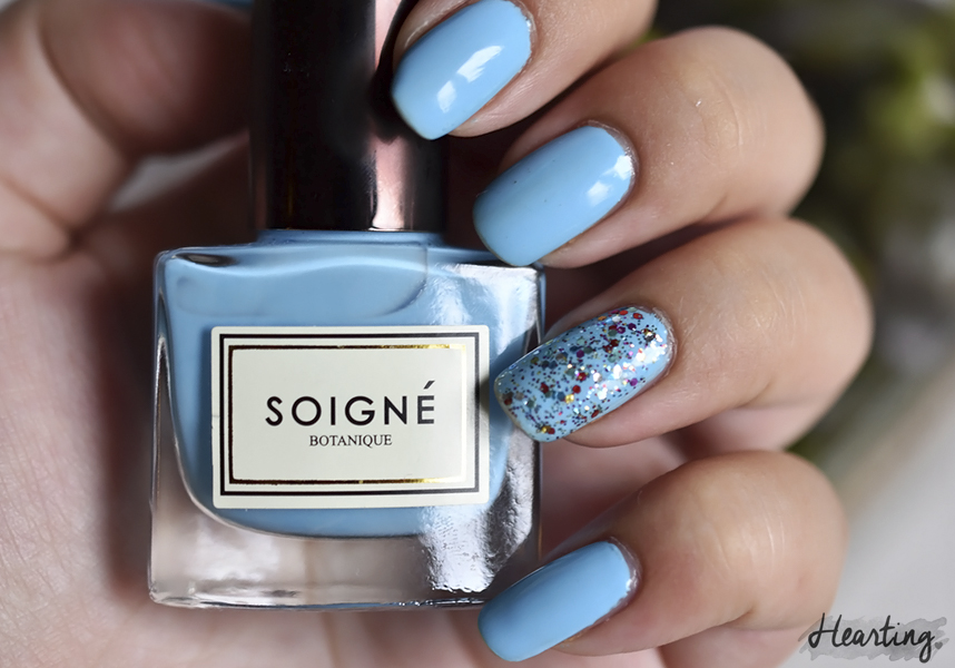 Nails #78 | Nails #78 featuring Soigné Eau and Picture Polish Blogger