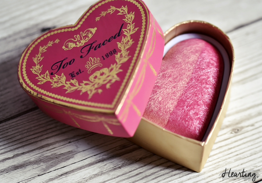 Too Faced Sweetheart Blush in Something About Berry