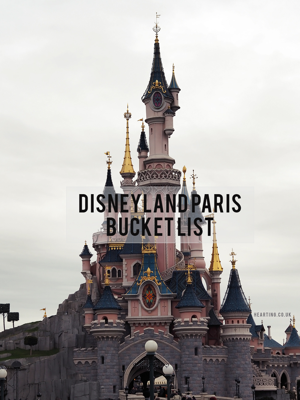 Disneyland Paris Bucket List: 10 things I'd love to do when visiting Disneyland Paris this October