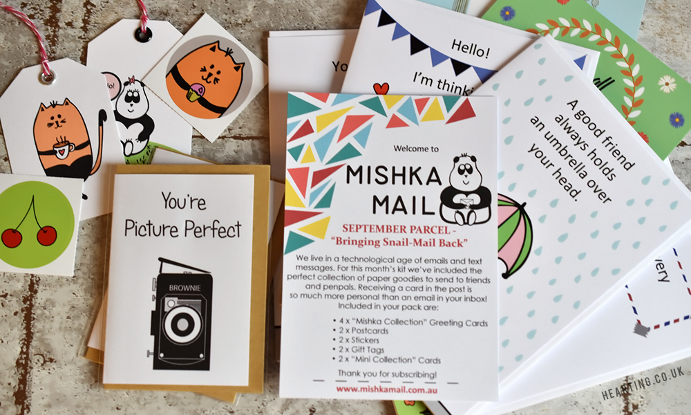 Mishka Mail | A monthly stationery subscription from Graceful Avenue