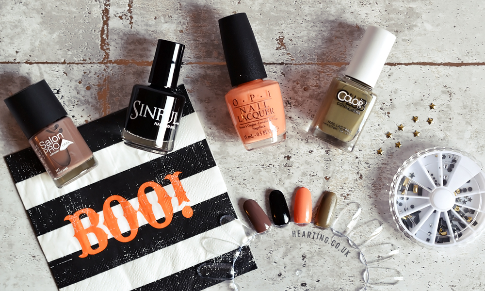 Nailbox #18 | Unboxing and first impressions of the September 2016 Pumpkin Patch Nailbox