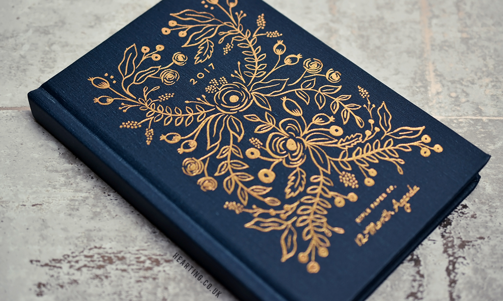 3 Diaries For 2017 | Rifle Paper Co 2017 Midnight Planner