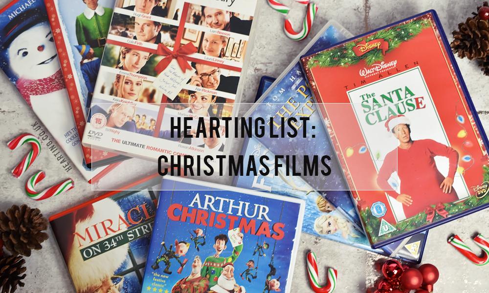 Hearting List #11: Christmas Films