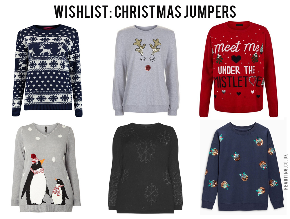 Wishlist: Christmas Jumpers #3